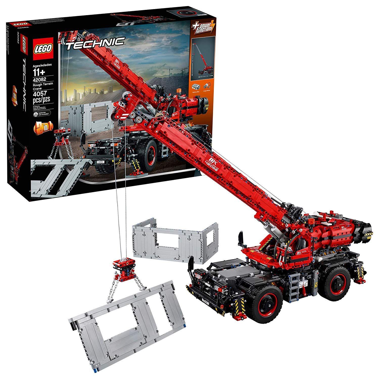 LEGO Technic Rough Terrain Crane 42082 Lego technic sets