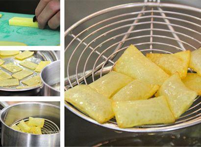 Patatas 'soufflées'