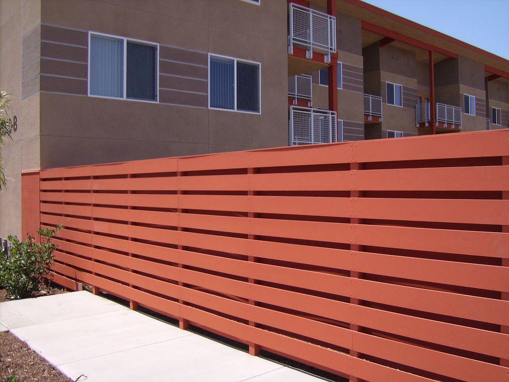 Seasons Compton Cement Panels Modern Fence Backyard Fences