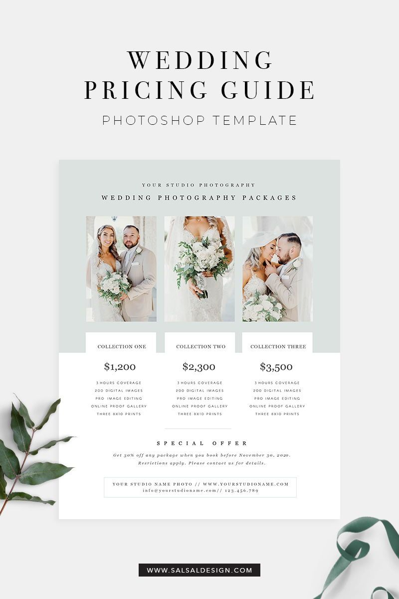 Wedding Photography Pricing Templateprice Guide List For Etsy In 2020 Wedding Pricing Guide Photography Pricing Template Wedding Photography Pricing