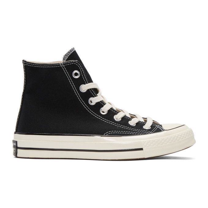 c77e47efce812d CONVERSE Black Chuck Taylor All Star 1970 s High-Top Sneakers.  converse   shoes