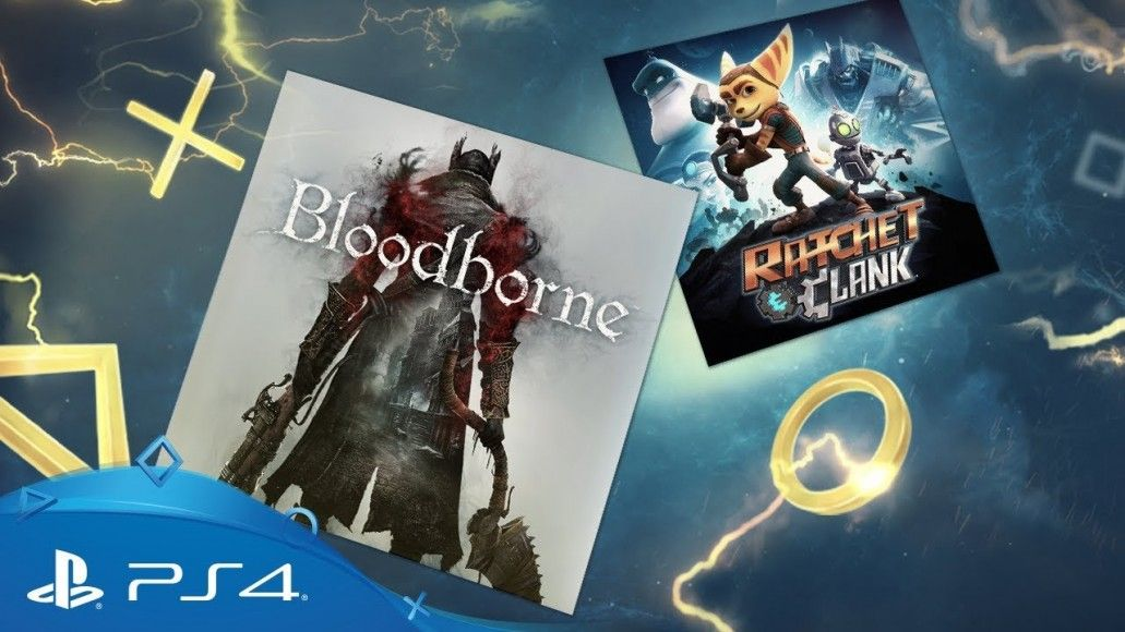 Bloodborne e Ratchet & Clank no Playstation Plus