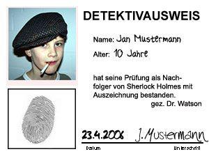 Detektivgeburtstag - Auf den Pfaden von Sherlock Holmes ...