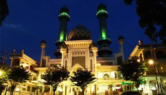 AR-RAHMAH MOSQUE, MALANG, INDONESIA