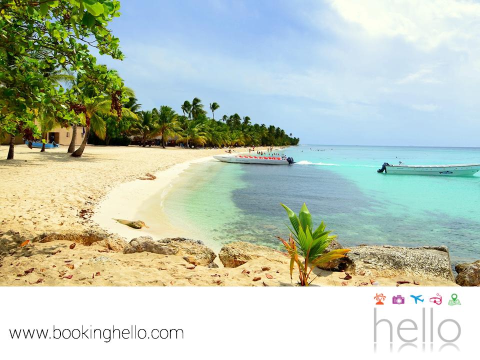 VIAJES DE LUNA DE MIEL. Tu luna de miel también puede convertirse en un viaje para disfrutar de la naturaleza, si eliges vivir la experiencia all inclusive de Booking Hello en República Dominicana, pues tú y tu pareja, podrán hacer un recorrido en bote por la Isla Saona, poblada por un pequeño pueblo de pescadores y rodeada de un espectacular entorno tropical. Te invitamos a visitar nuestro sitio web, para conocer las diferentes opciones en packs que tenemos para ustedes. #viajedelunademiel