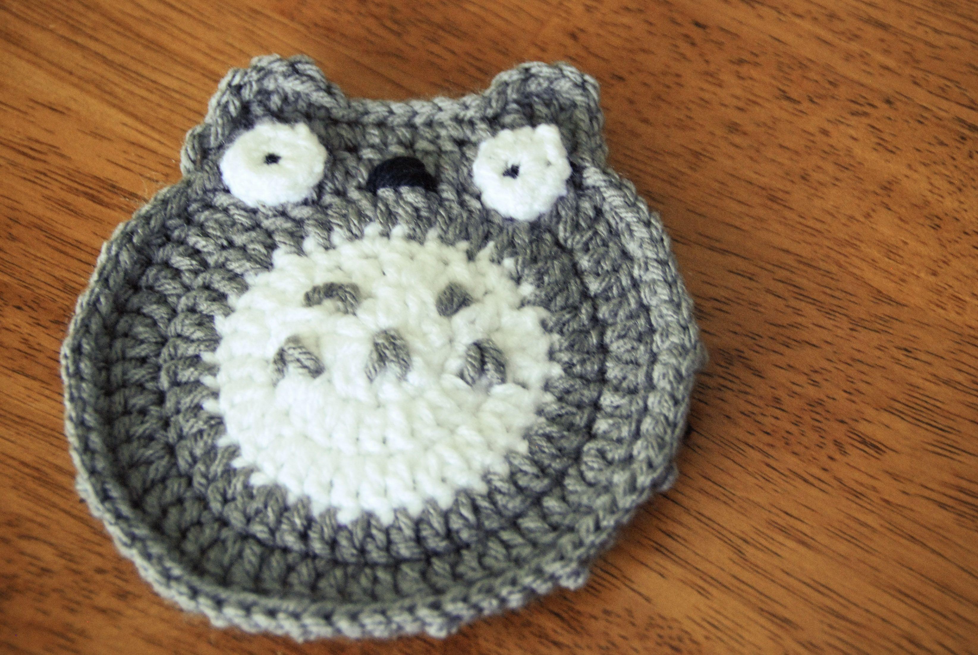 totoro crochet granny square - Google Search   To make   Pinterest