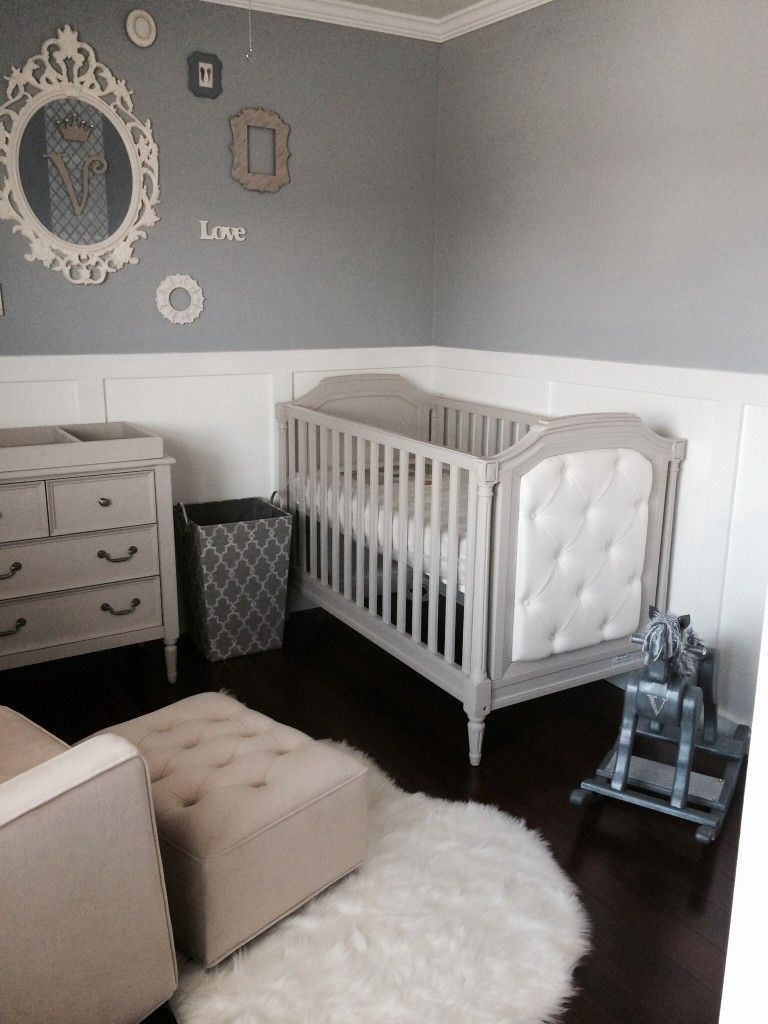 Elegant Baby Boy Nursery | Laundry, Nursery and Room