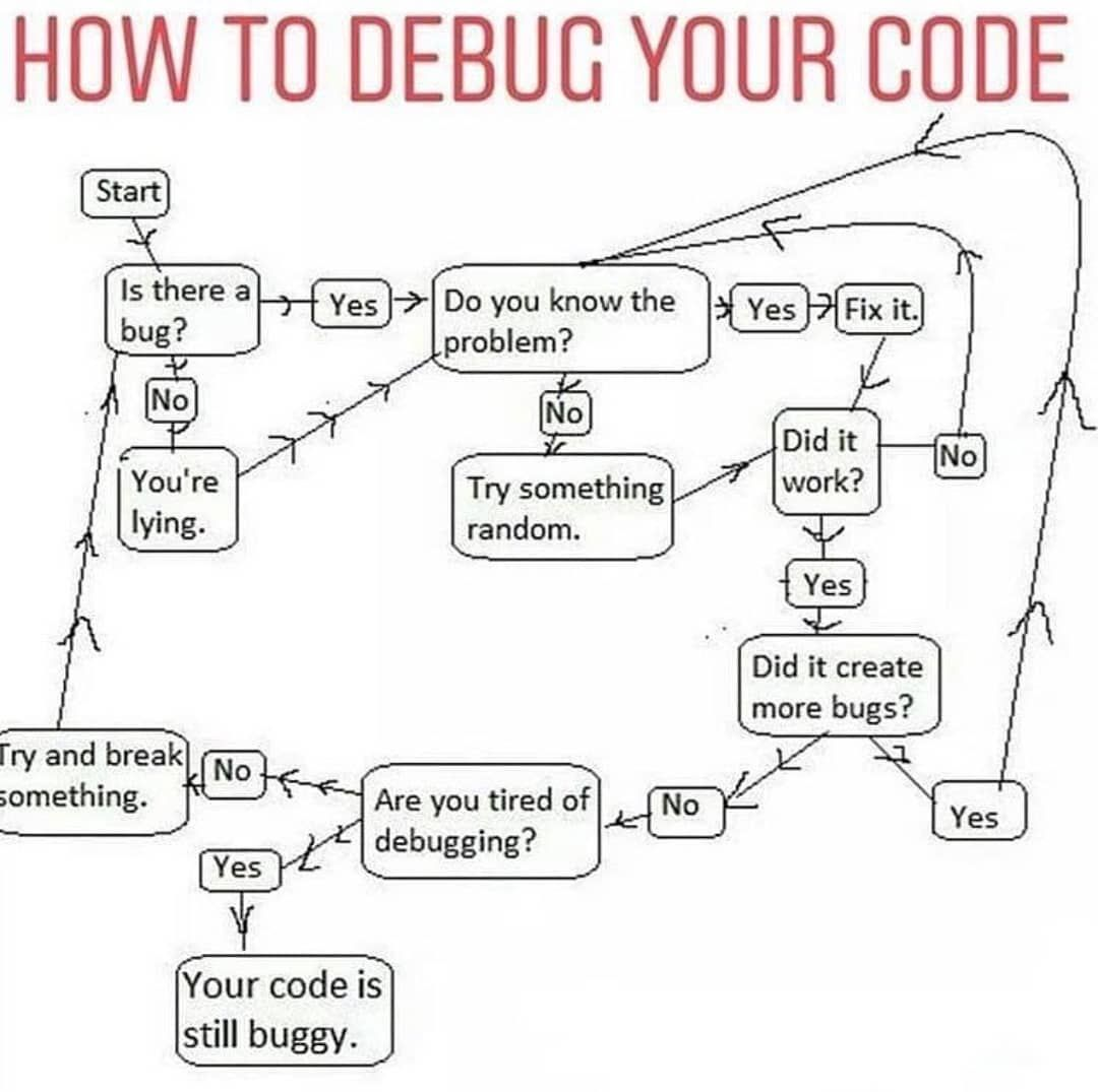 World Of Programmers On Instagram We All Know That Debugging