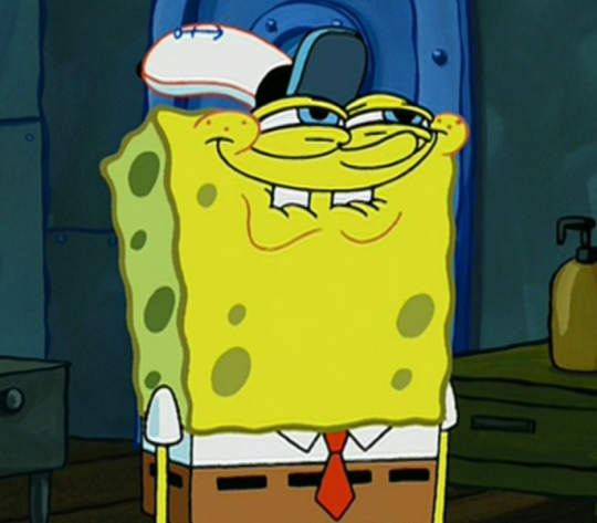 Spongebob Licking Meme Gif