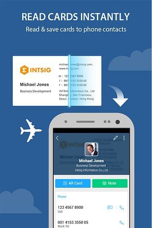 11 Ways Your Phone Can Actually Make You Productive Business Card App Free Business Cards Card Reader
