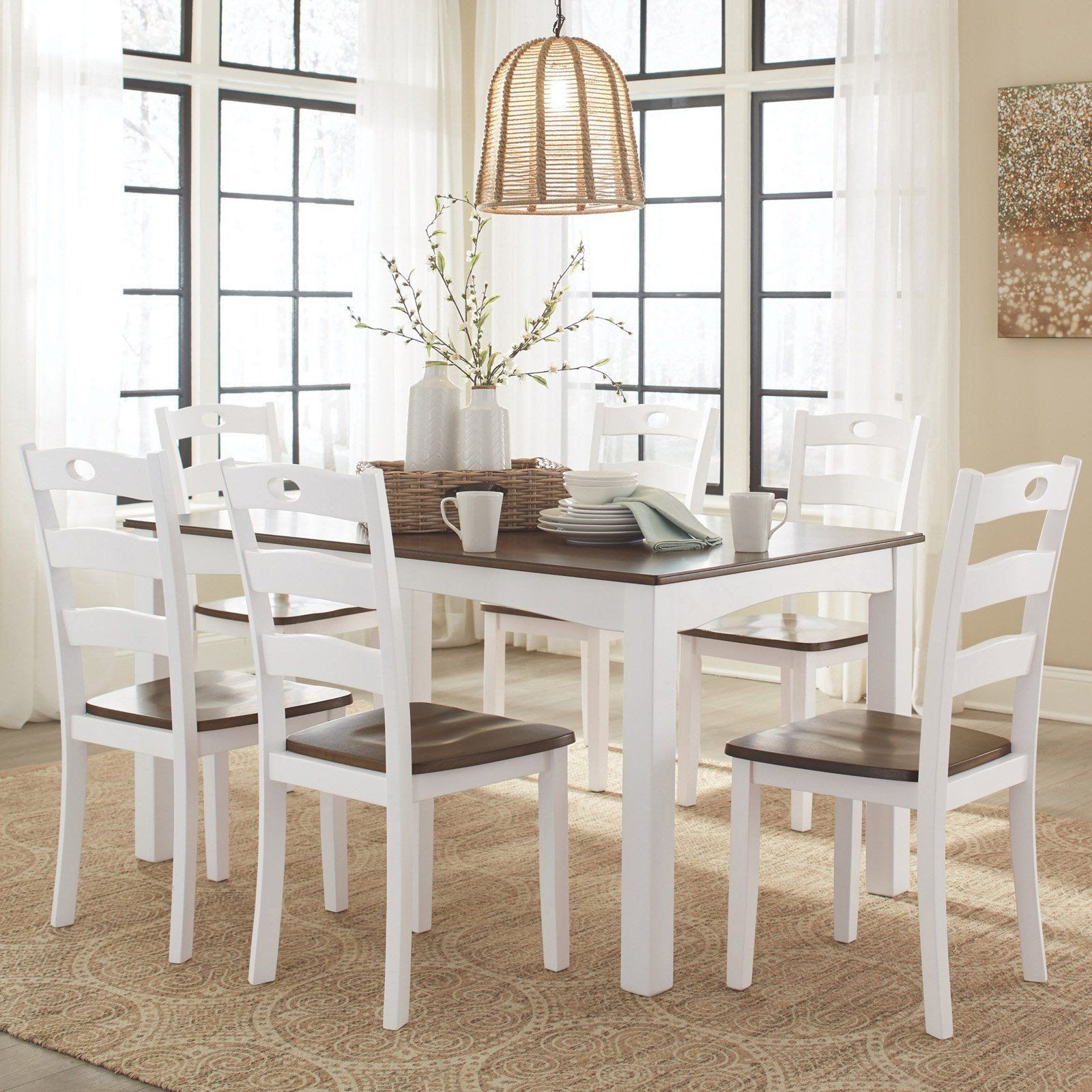 40++ Woodanville dining room table and chairs Trend