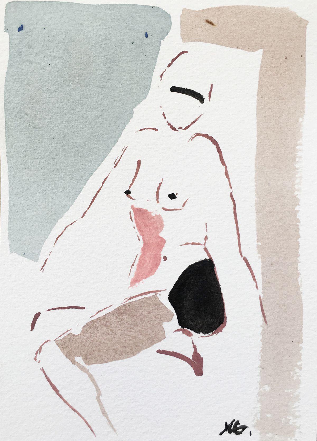 Mini Nude XLVI   NG Collective Studio