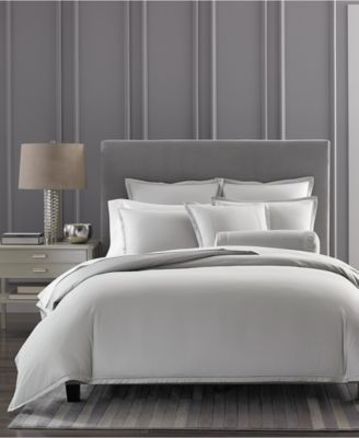Hotel Collection Ladder Stitch Pique Duvet Covers Only At Macy S Macys Com Hotel Collection Bedding Bed Linens Luxury Modern Bed