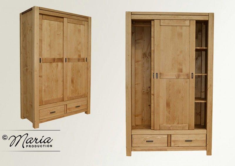 Le meuble de la collection ADRIANA, fabriqué entièrement en bois
