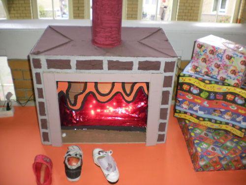 Haard van kartonnen doos sinterklaas pinterest sinterklaas van and cardboard crafts - Decoratie pizzeria ...