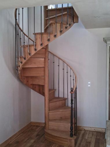 Best Spiral Stair Xix° Replica Wood Iron Alexandre Palay 400 x 300