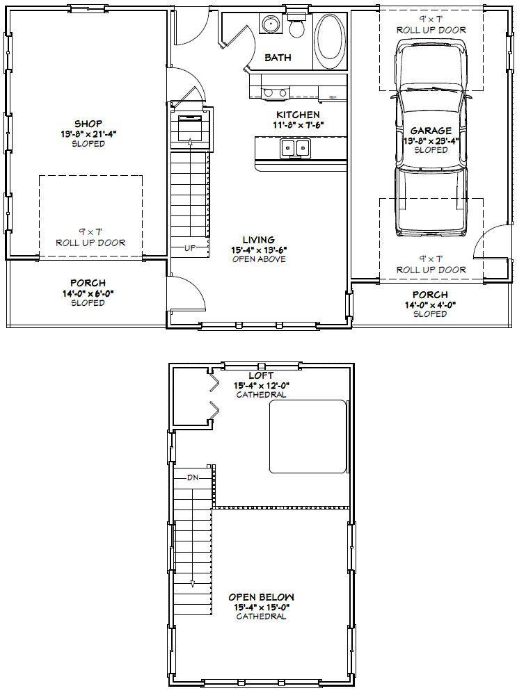PDF house plans, garage plans, & shed plans.   Storage ...