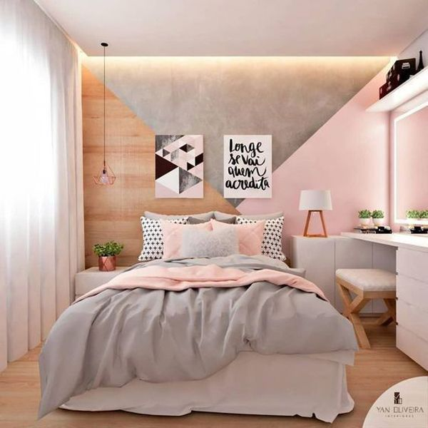 48 Trendy Girls Bedroom Ideas That Dream Space Teenagers Di 2020