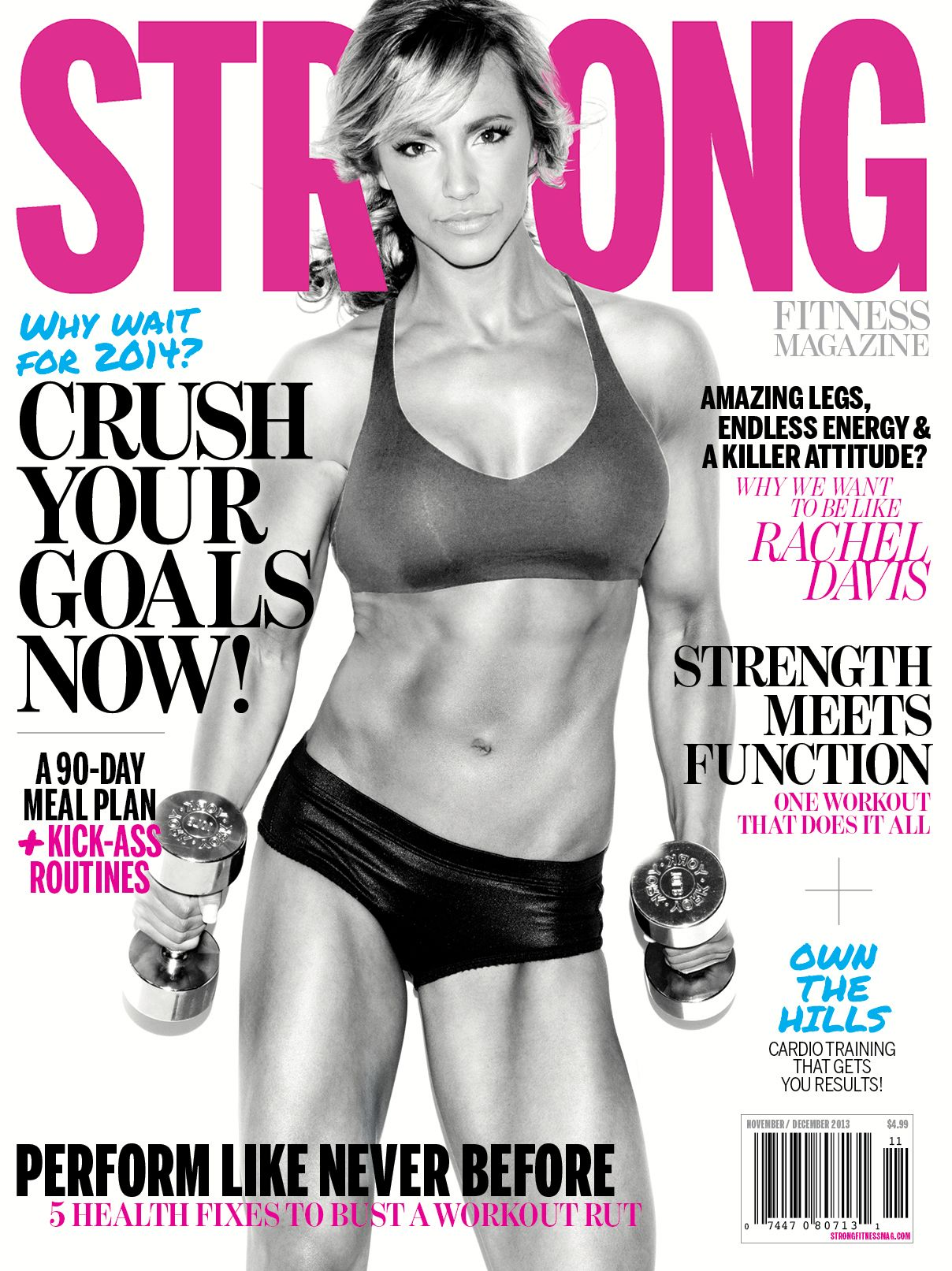 strong fitness magazine issue model rachel davis strong strong fitness magazine issue 1 model rachel davis