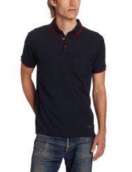 3d0fbd6d799542 Ben Sherman Men's Short Sleeve Tipped Collar Pique Polo Shirt ...