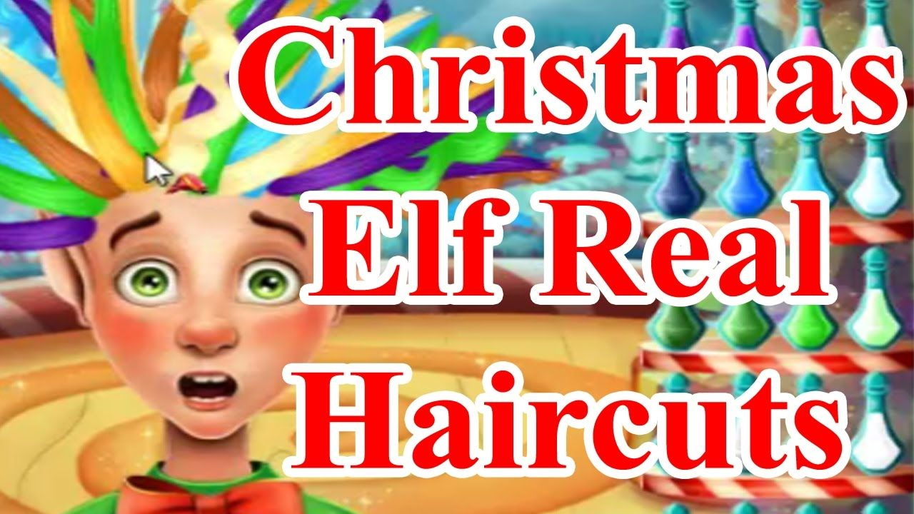 Barbie Games Christmas Elf Real Haircuts Baby Games Pinterest