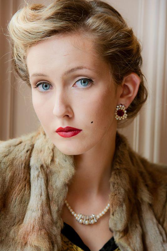 1930s Glamour | 1930s hair, 1930s fashion hair, Vintage ...