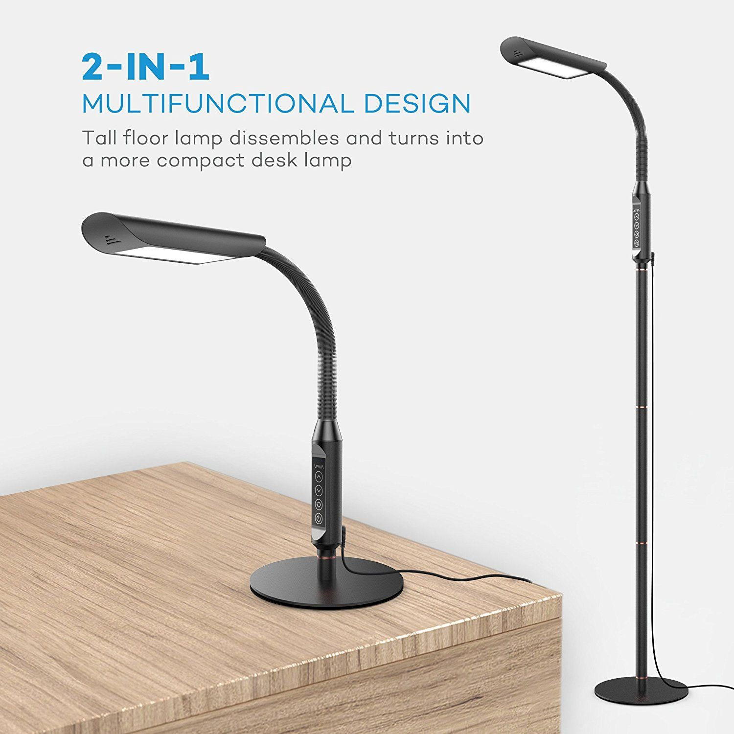 Floor Lamps Vava Dimmable Led Reading