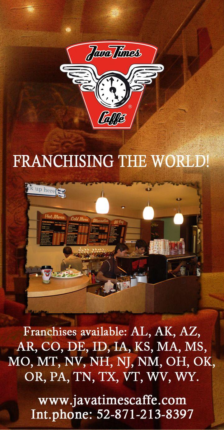 Coffee Shop Franchise Coffee shop franchise, Opening a
