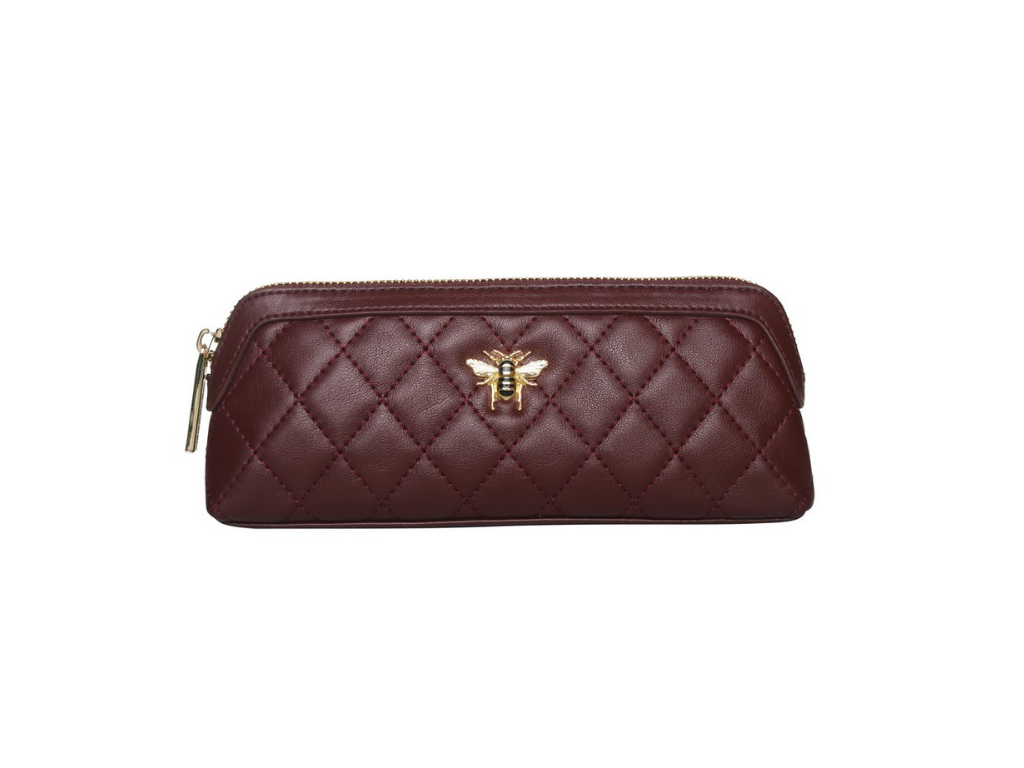 Mulberry Quilted Beauty & Make Up Tasche