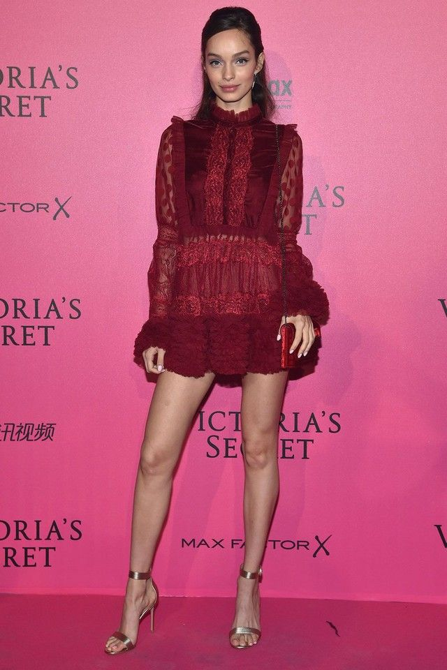 7 Looks To Steal From The VS After Party | Vestidos de fiesta cortos ...