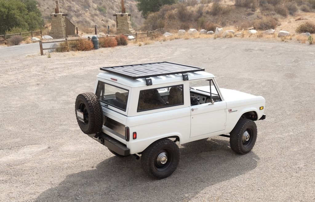 Early Bronco Factory Roof Rack - 12.300 About Roof