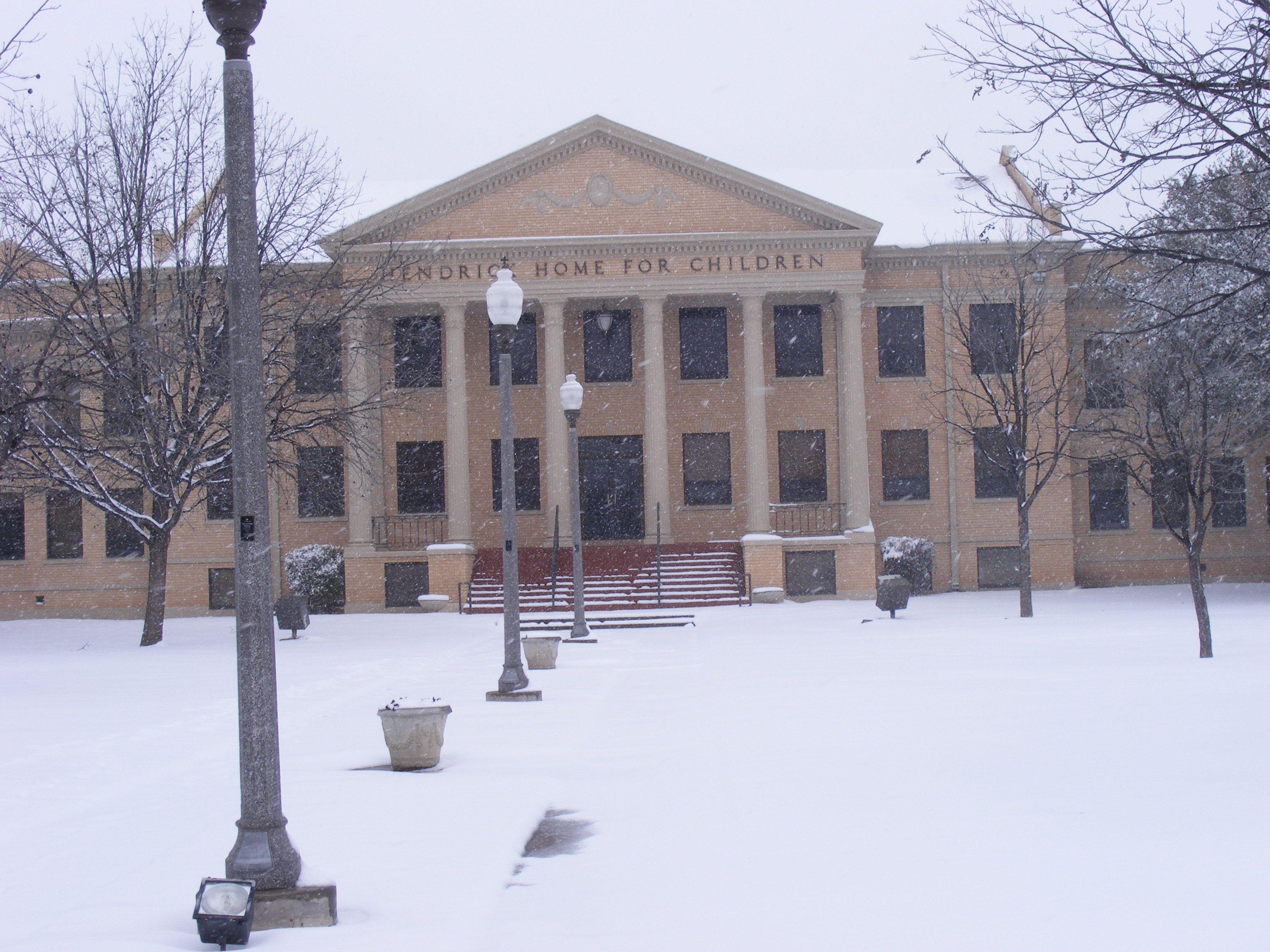 Hendrick Home In The Snow Winter Scene Abilene Winter Abilene Texas Winter Scenes Outdoor Abilene Texas