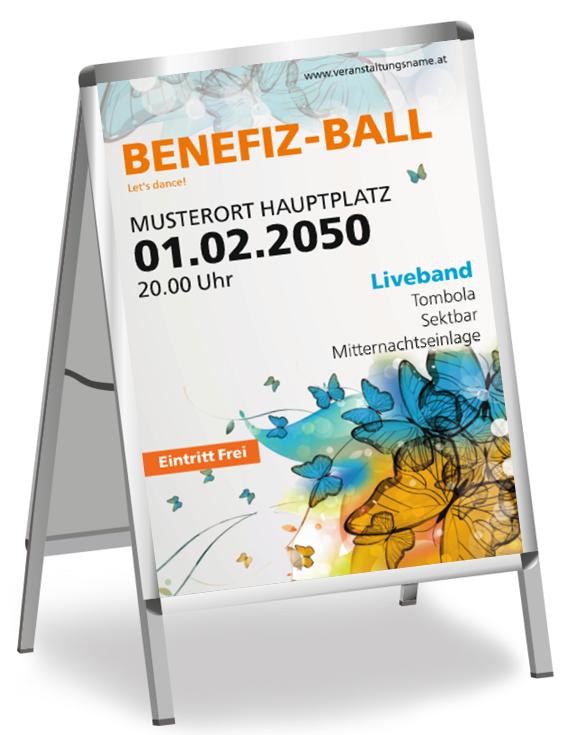 Kostenlose Ball Poster Vorlagen #onlineprintxxl #benefiz ...