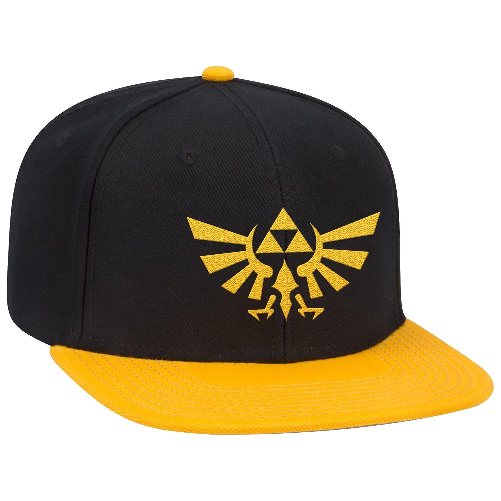 883c20c176c The Legend of Zelda  Hyrule Crest Brimmed Hat - Black Yellow