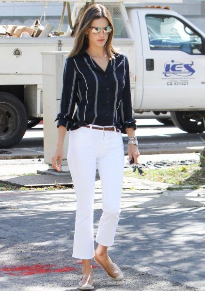 57772b8d241 White Jeans Outfit Ideas  How Celebs Rock White Jeans