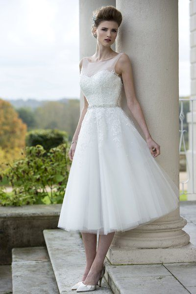 Wedding Dresses & Bridesmaids | True Bride | W169 | short and high ...