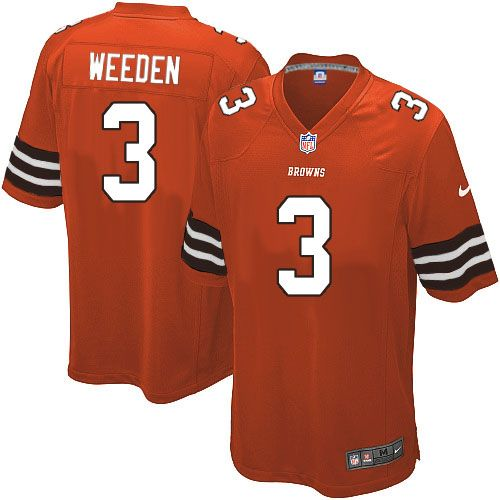 reputable site d68b5 8bbe1 Pin by Jimmy Cobham on Brandon Weeden Nike Elite Jersey ...