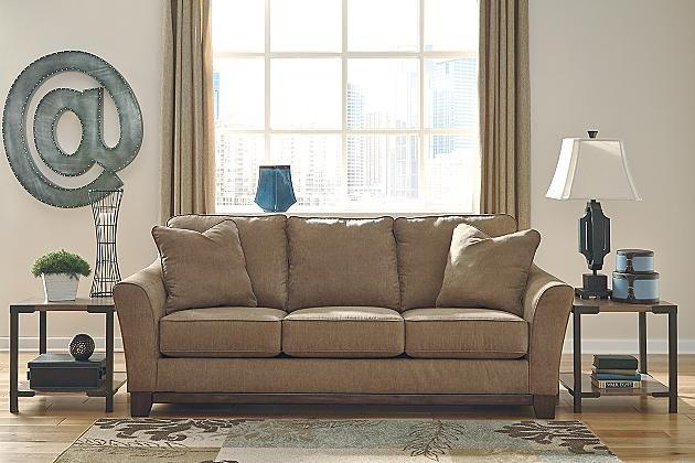 Ashley Furniture Morandi Mocha Sofa Wooden Designs With Dimensions $449 | Shopping ...