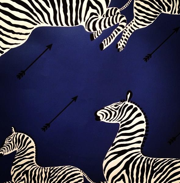 Scalamandre Zebras!   Wallpaper, Zebra blinds, Curtains ...