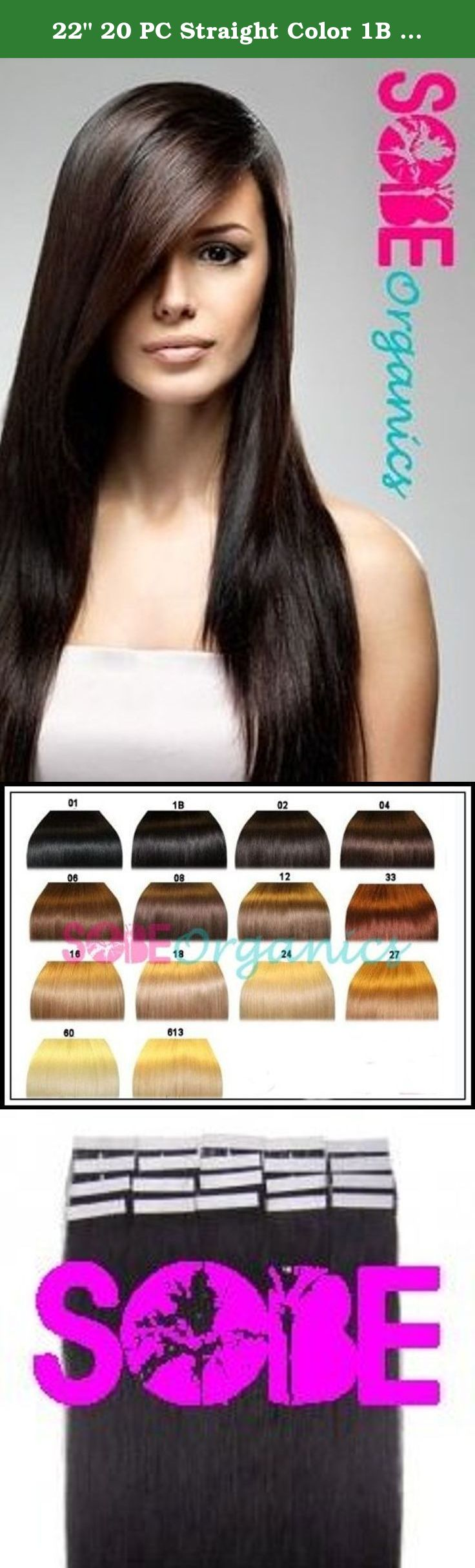 22 20 pc straight color 1b off black remy tape human hair 20 pc straight color off black remy tape human hair extensions our human remy hair comes in packs of 20 for volumizers highlights or lowlights pmusecretfo Choice Image