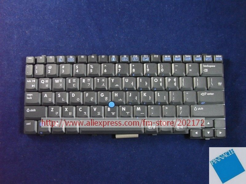 Brand New Black Laptop  Notebook Keyboard 383458-AD1 PK13AU00160 For HP Compaq  NC4200  series (Korea) 100% compatiable us