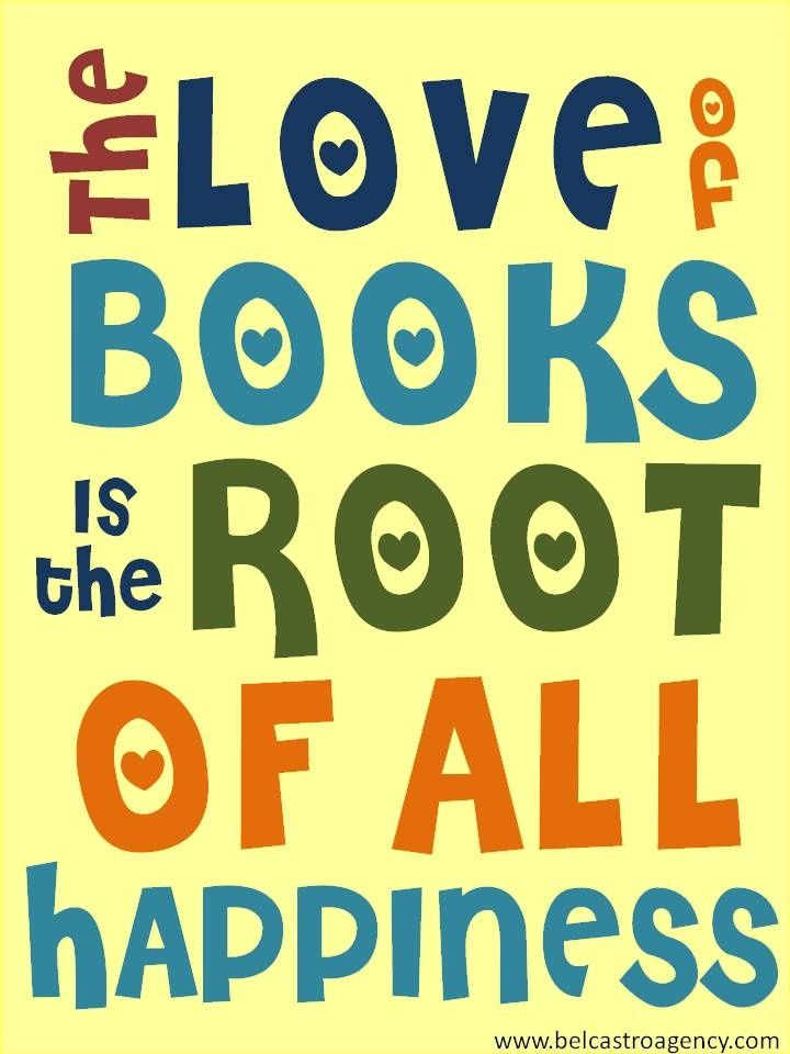 El amor de los libros...