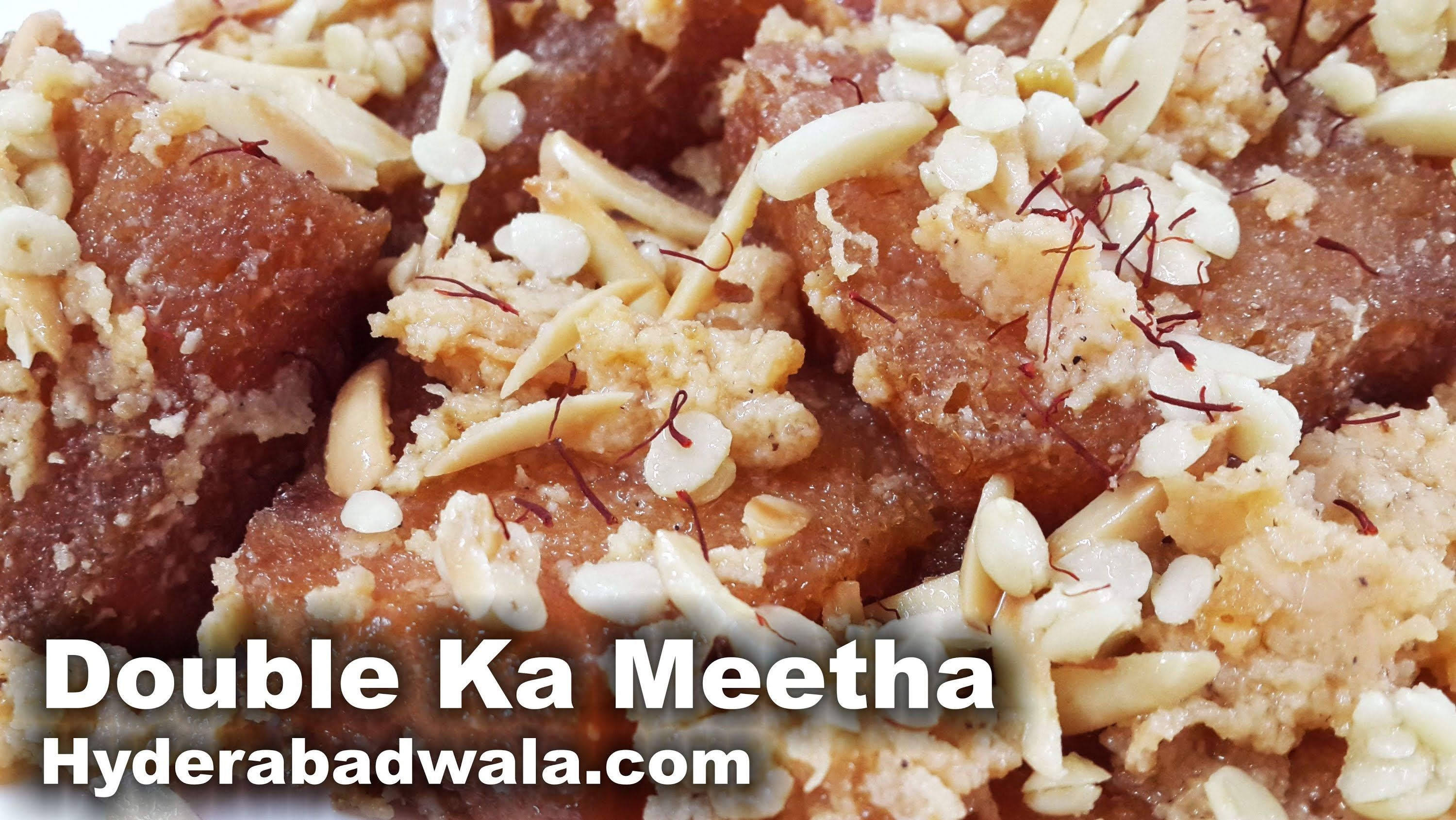 Double ka meetha recipe video how to make hyderabadi double ka double ka meetha recipe video how to make hyderabadi double ka meetha indian sweetscooking forumfinder Images