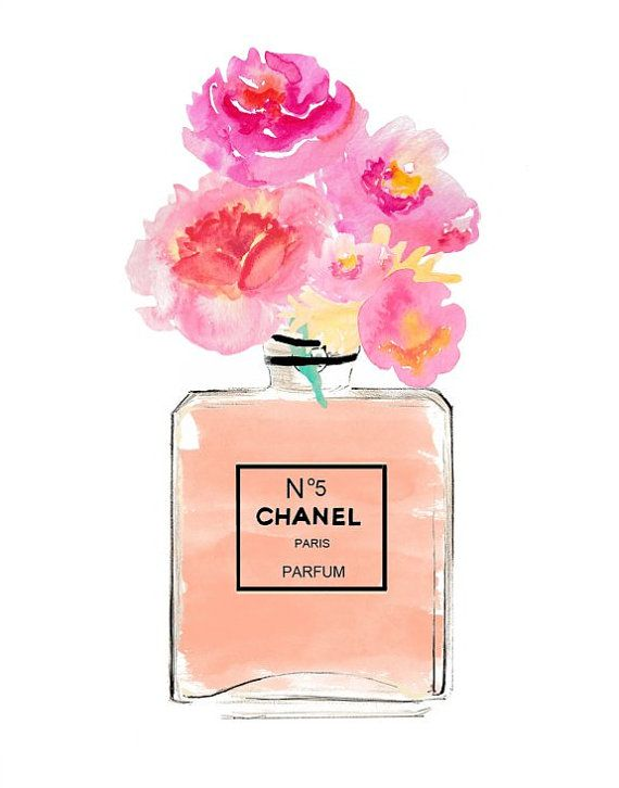 picture about Chanel Printable called Chanel Artwork Print, Coco Chanel fragrance, Printable Artwork, Chanel