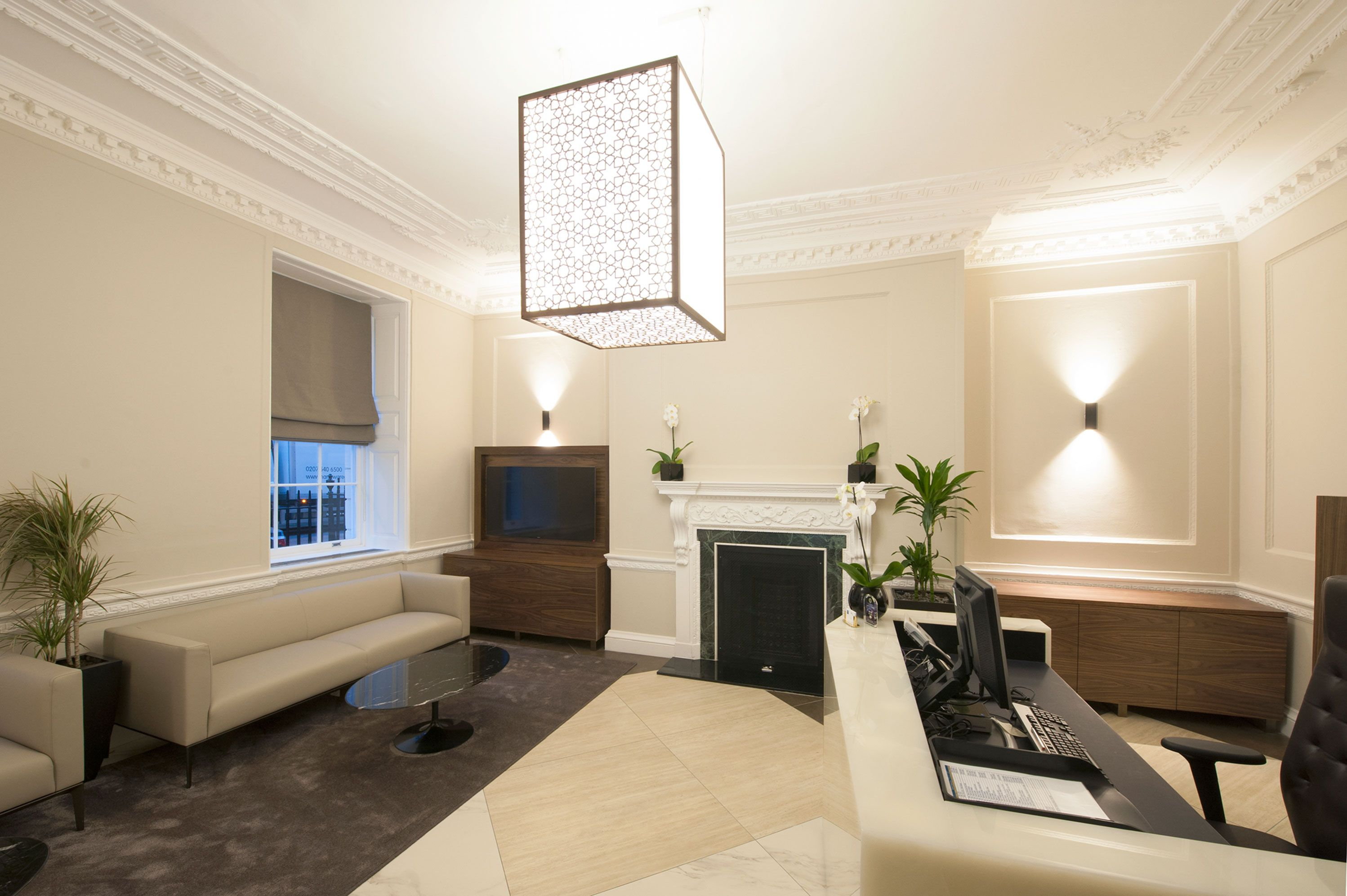 QIB UK- Qatar Islamic Bank London Offices - Office Design & Fit-Out ...