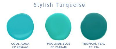 Lusamu Stylish Turquoise Dollops Benjamin Moore Paint Colors Painting Table Colorful
