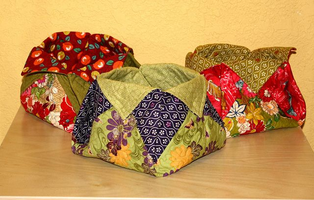 Thread catcher on Pinterest | Thread Catcher, Fabric Bowls and Fabric Boxes