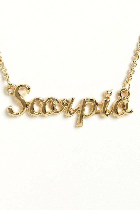 Zodiac attack gold scorpio necklace scorpio zodiac and gold zodiac attack gold scorpio necklace mozeypictures Images