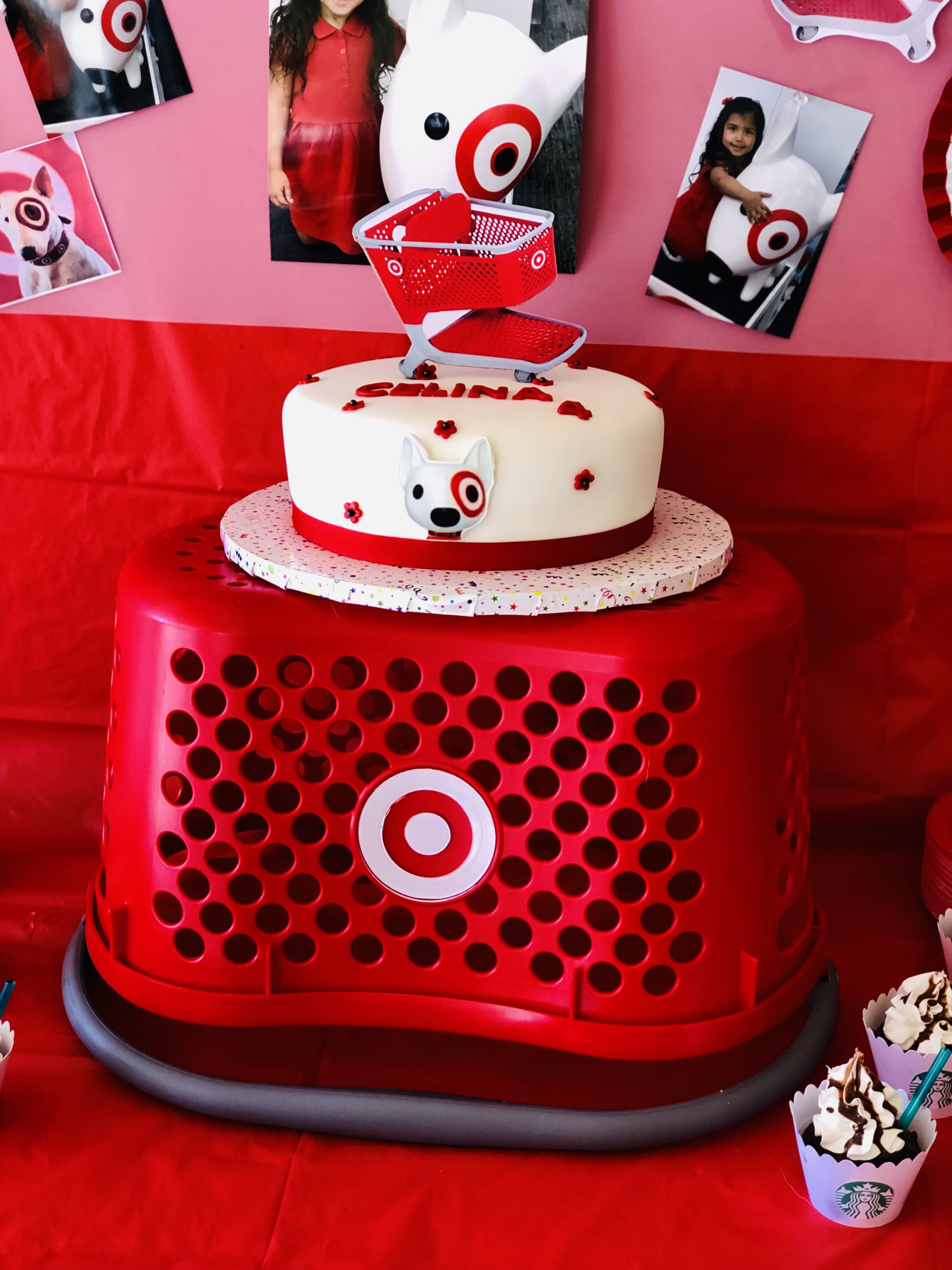 Pin By Adriana Calautti On Parties Target Birthday Cakes Mall