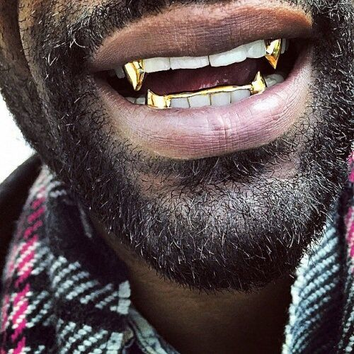 Fangs Grillz Google Search Grillz Black Gold Jewelry Gold Grillz
